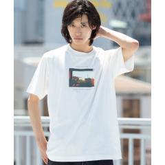 カラーフォトプリントTシャツ【お取り寄せ商品】