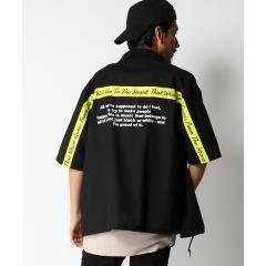 バックプリントコーチシャツ