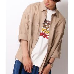 フラップポケットBIGシャツ
