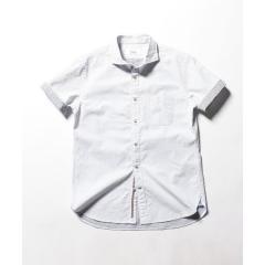 パラシュートカッタウェイ半袖ドットシャツ【お取り寄せ商品】