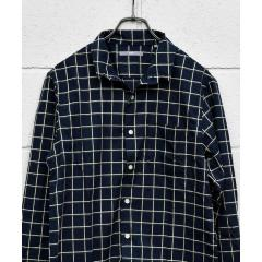SU: スタンド ワイヤー モールチェック シャツ【お取り寄せ商品】