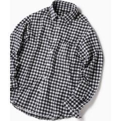 SC: フェザー ギンガムチェック ボタンダウン ネルシャツ 19FW【お取り寄せ商品】