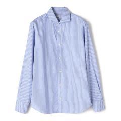 SD: ウォッシュド オクスフォード ロングストライプ シャツ【お取り寄せ商品】