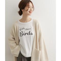 BIRDSプリントTシャツ【お取り寄せ商品】