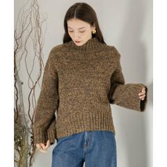 メランジハイネックセーター【お取り寄せ商品】