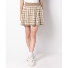【セットアップ対応商品】千鳥柄スカート