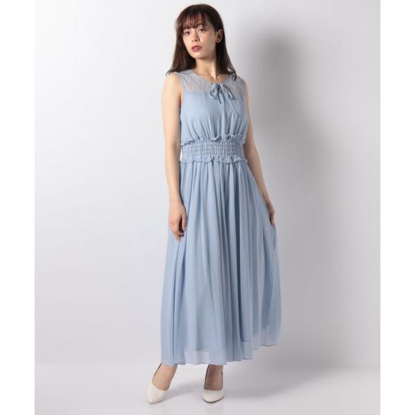 シフォンパンツドレス