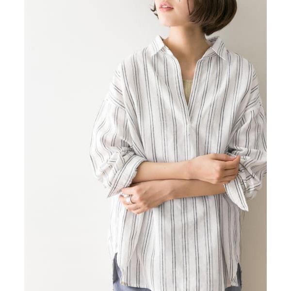 高機能リネンスキッパーシャツ【お取り寄せ商品】