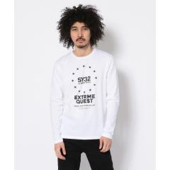 SY32 by SWEETYEARS /エスワイサーティトゥバイ スィートイヤーズ/WORLD STAR L/S TEE【お取り寄せ商品】
