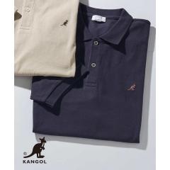 KANGOL/カンゴール 刺繍ワイドシルエットポロシャツ[WEB限定サイズ]【お取り寄せ商品】の画像