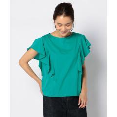 [新色追加]ラッフルスリーブTシャツ(fredy couleur)【お取り寄せ商品】