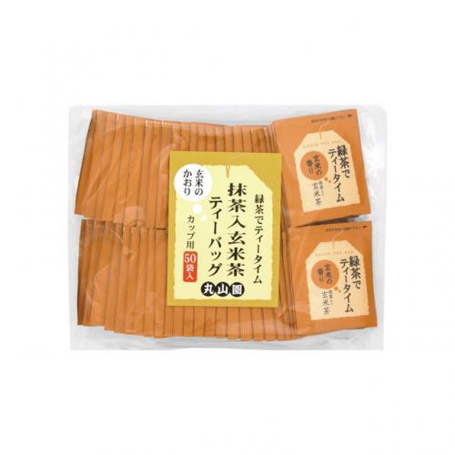 緑茶でティータイム抹茶入り玄米茶TB