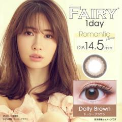 [ドーリーブラウン] FAIRY 1day フェアリーワンデー Romantic Series 12枚[シンシア]