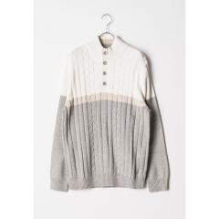 ノーティカ Nautica Mock Neck SWEATER メンズ XL SAIL WHITE NS