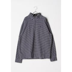 ノーティカ Nautica 1/4 Zip KNIT メンズ L NAVY