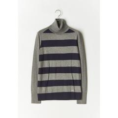 ノーティカ Nautica Turtle Neck SWEATER レディース L COASTAL GREY HEATHER H120