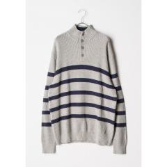 ノーティカ Nautica 1/4 Zip SWEATER メンズ L GREY HTR 0GH