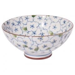 みのる陶器 内外茶碗 特大 直径14.0×高さ6.5cm 茶漬け碗