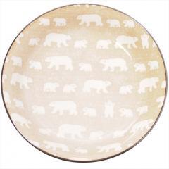 みのる陶器 白くま 軽量カレー ベージュ