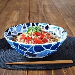 みのる陶器 セラミックグラス ラーメン丼 美濃焼