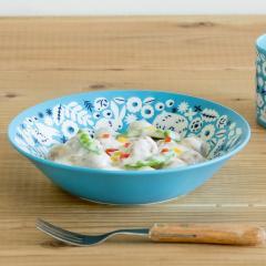みのる陶器 KUKKA(クッカ)8インチクープ アクアブルー