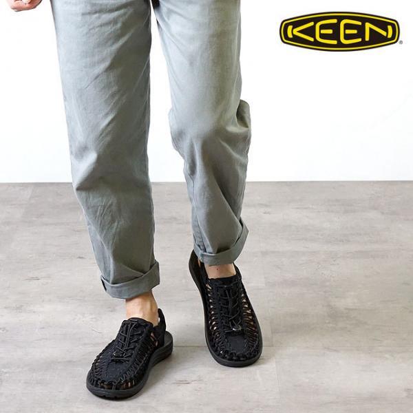 daf8b95816fe ... 送料無料 KEEN キーン メンズ サンダル 靴 UNEEK 3C MEN ユニーク スリーシー Black Black ...