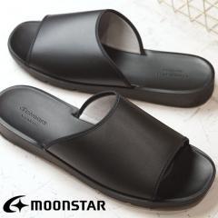 Moonstar ムーンスター サンダル CHIC INJECTION シックインジェクション LAZY レイジー BLACK (54320796 SS17) 日本製 靴
