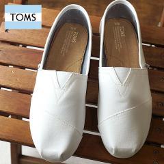 【SALE】TOMS トムス メンズ MENS SEASONAL CLASSICS シーズナル クラシックス スリッポン キャンバス O.White Canvas 靴 (10008369 SS17)