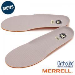 MERRELL メレル メンズ インソール 中敷き ORTHOLITE FOOTBET オーソライト インソール GRAY 靴 [J1JOFM6MG]【メール便対応】