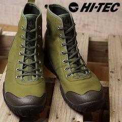 送料無料 HI-TEC ハイテック スニーカー 靴 メンズ・レディース HT ADU11 AMACRO VENTILE アマクロ ベンタイル KHAKI (53340493 FW17)