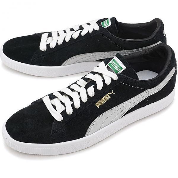 【SALE】PUMA プーマ スエード メンズ・レディース SUEDE 90681S スウェード 90681S PUMA BLACK/SILVER 靴  (366102,01 SS18)