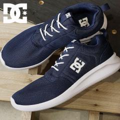 【SALE】DC SHOES ディーシーシューズ メンズ・レディース MIDWAY ミッドウェイ スニーカー 靴 NVY ネイビー (DM181042 SS18)