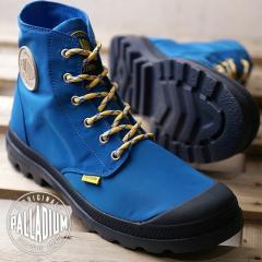 【SALE】PALLADIUM パラディウム メンズ・レディース レインシューズ PAMPA PUDDLE LITE WP パンパ パドルライト ウォータープルーフ ROYAL BLUE/DRESS BLUES ブルー 靴 (73085-484 SS18)