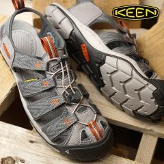 送料無料 KEEN キーン サンダル 靴 メンズ M CLEARWATER CNX クリアウォーター シーエヌエックス G.Flannel/Potters Clay (1018497 SS18)