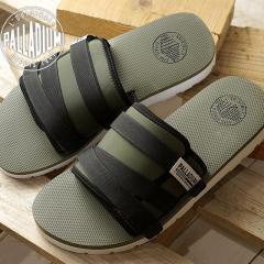 【SALE】PALLADIUM パラディウム OUTDOORSY SLIDE SANDAL アウトドア スライドサンダル メンズ・レディース  靴 OLV NIGHT/BLK/WHT (75790-307 SS18)