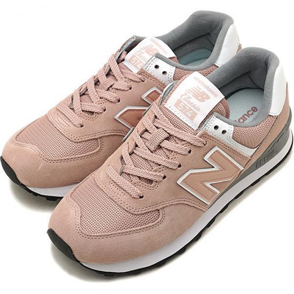 2f12f781aa1df 【SALE】ニューバランス new balance WL574 レディース Bワイズ スニーカー 靴 PINK (WL574UNC HO18