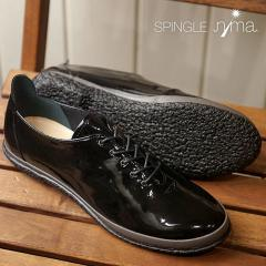 送料無料 SPINGLE nima スピングルニーマ レディース VICHY SPINGLE MOVE スピングルムーブ フラットシューズ 靴 スニーカー ブラック (NIMA-125)
