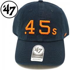 フォーティーセブン '47 キャップ ASTROS CLEAN UP アストロズ メンズ レディース アジャスタブルキャップ 帽子 NAVY (RGW10GWS)