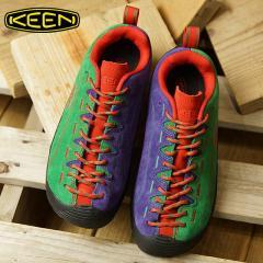 送料無料 キーン KEEN レディース ジャスパー WOMEN JASPER コンフォートシューズ アウトドアスニーカー 靴 Green/Red/Purple (1019481 FW18)