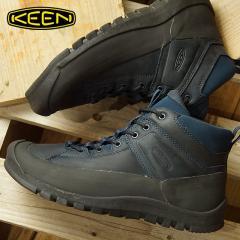 【SALE】送料無料 キーン KEEN メンズ シティズン キーン リミテッド ウォータープルーフ MEN CITIZEN KEEN LTD WP ミリタリーシューズ アウトドアスニーカー 靴 Dress Blues (1015143 FW18)
