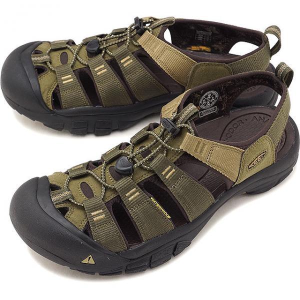 Men Keen NEWPORT H2 1018941 Dark Olive//Antique Brown Athletic Sandal Shoes
