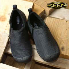 送料無料 キーン KEEN レディース ハウザー スリー WOMEN HOWSER III リラックス コンフォートシューズ モック 靴 Black Quilted (1019647 FW18)