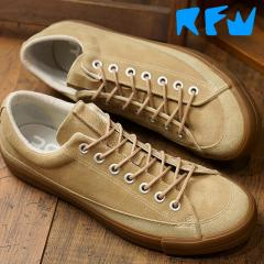 【SALE】アールエフダブリュー RFW ベーグル ロー スエード BAGEL-LO SUEDE リズムフットウェア メンズ スニーカー 靴 Beige (R-1832253 FW18)