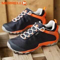 送料無料 メレル MERRELL レディース カメレオン7 ストーム ゴアテックス W CHAMELEON7 STORM GORE-TEX 完全防水 アウトドア トレッキングシューズ 靴 NAVY/PINK (38606 FW18)