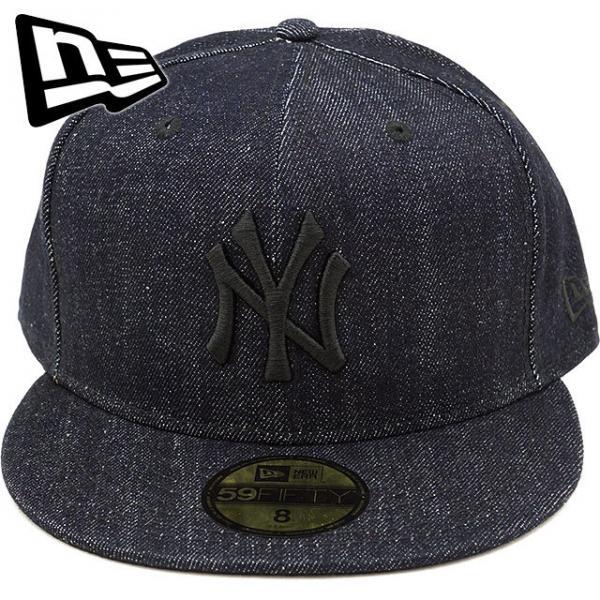 5adb03c2dc0a3 【SALE】ニューエラ キャップ NEWERA ニューヨーク・ヤンキース ジャパンデニム 59FIFTY NY JPN DENIM CAP
