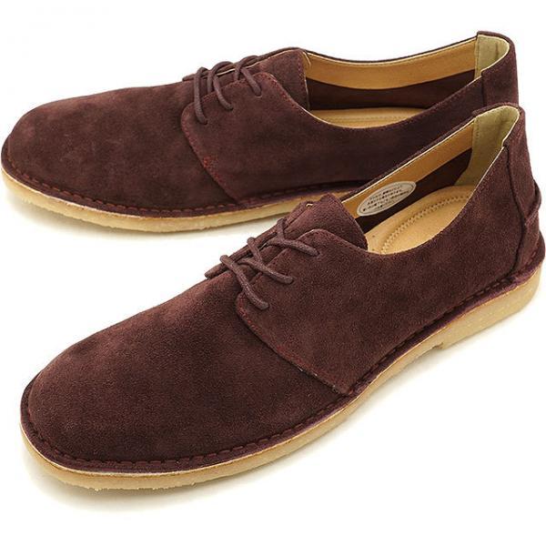 【SALE】フットスタイル FOOT STYLE メンズ スエード カジュアルレザーシューズ 靴WINE SUEDE (FS,3338M FW18)