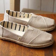 17e232e7e6f8 送料無料 トムスTOMS レディース エスパドリーユ スリッポン オン ロープ WMS Alpargata トムズシューズ 靴 Natural  Pearlized Metallic.