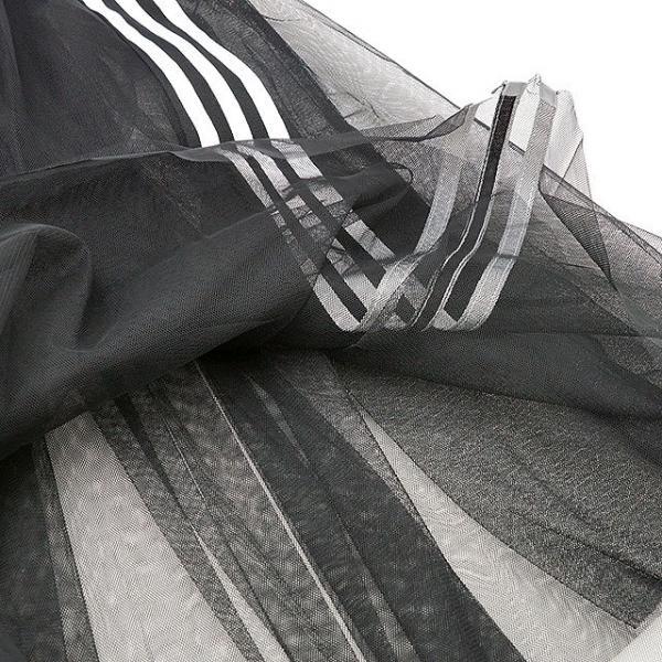 送料無料 アディダス オリジナルス adidas Originals レディース スカート チュール SKIRT TULLE チュールメッシュ シースルー ジャージ ロングスカート (FUW53/DX3696 SS19)