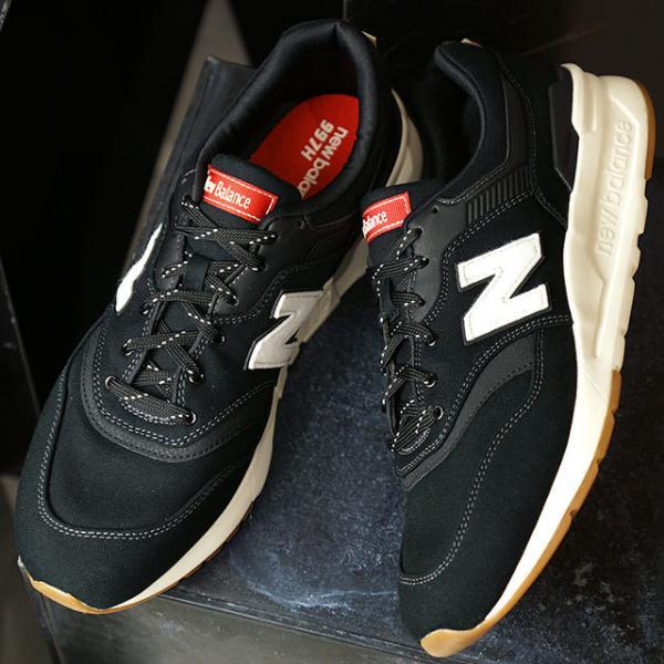 9c402b1cc91fa 送料無料 ニューバランス newbalance CM997H メンズ レディース スニーカー 靴 DD BLACK ブラック系 (CM997HDD  SU19