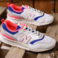 【SALE】ニューバランス newbalance CM997H AJ メンズ レディース スニーカー 靴 WHITE ホワイト系 (CM997HAJ SS19)